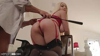 Ass whipped plus tied up via sex for a unrestricted maledom