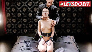LETSDOEIT – Alexis Binoculars Tied Up And Hardcore Drilled By BF