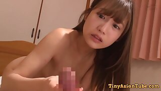 Shy Japanese Schoolgirl Makes Love With Older Brother